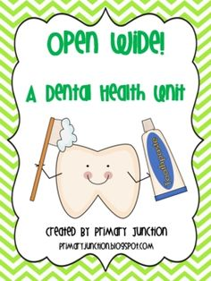 Have a blast learning all about teeth and dental health with this Dental Health Unit! This 144 page unit is packed full of reading, math, science, writing, and crafts.