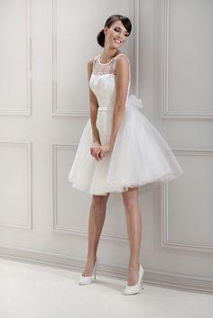 Mode de Pol Brautkleid aus der Agens Kollektion für 2014. Modell 11843