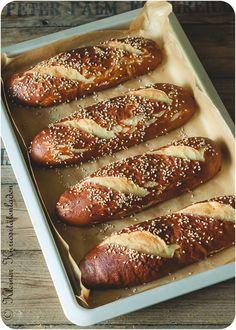 Laugenstangen 2.0 ~ Laugen-Hotdog-Buns