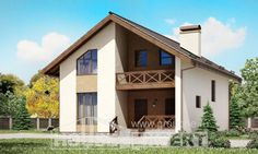 170-002-R Two Story House Plans with mansard roof, inexpensive Plan Online