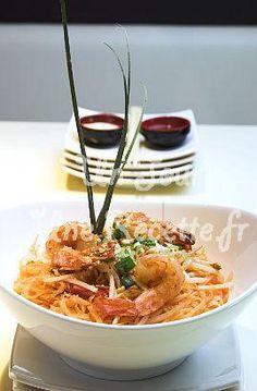 Photo de la recette Pad thaï aux crevettes