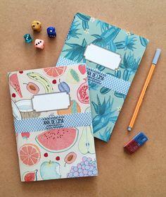 Packung mit 2 schöne illustrierte Bücher (B) von Anadelima auf DaWanda.com
