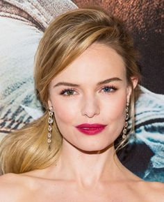 50 Shades: The Exact Foundation Formula Worn By Your Favorite Celebs - Kate Bosworth from Kate Bosworth, Celebrity Skin, Celebrity Makeup, Bride Makeup, Hair Makeup, Morphe, 50 Shades, Blonde Celebrities, Hairdo Wedding