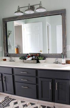 Farmhouse Master Bathroom Remodel Ideas (8)