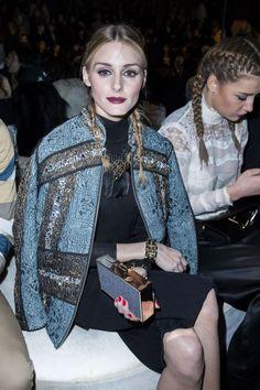 The Olivia Palermo Lookbook : Olivia Palermo at Paris Fashion Week,
