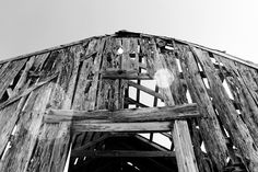 I grew up playing in this old barn.