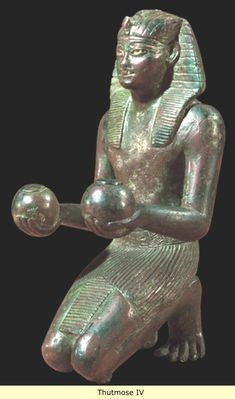 *THUTMOSE IV:We know that Tuthmosis IVwas probably married to Mutemwiya,who produced his heir to the throne,Amenhotep III,though he never acknowledged her as either a major or minor queen.It is possible,though now doubted by some,that she was the daughter of theMitannianKingArtatama,who sent his daughter toEgyptian court as a part of diplomatic exchange.Other of his wives included Merytra,who we believe later changed her name toTiaa(same as his mother's name)+a non-royal wife, Nefertiry...