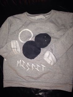 A personal favorite from my Etsy shop https://www.etsy.com/listing/213511201/grey-misfit-sweatshirt