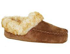 Ladies Seude Cozy Toes Slippers