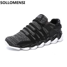 new product 68489 ec659 2017 men running shoes style jogging outdoors comfortable light weight  sneakers mesh breathable  fitnessaccessories