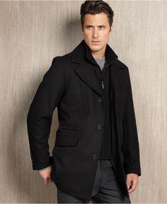 Levi's Coat, 4 Pocket Military Jacket - Mens Coats & Jackets ...