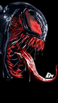 Venom Blood Art IPhone Wallpaper - IPhone Wallpapers