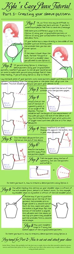 Easy Sleeve Tutorial by KylaHislop