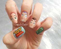 omnails:    Toy Story - pt 2  (facebook) (omnails) (pt 1)