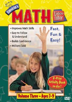 Shop for Einstein's Math Video Tutor Vol. 3 DVD  by Penton Overseas Inc  including information and reviews.  Find new and used Einstein's Math Video Tutor Vol. 3 DVD on BetterWorldBooks.com.  Free shipping worldwide.