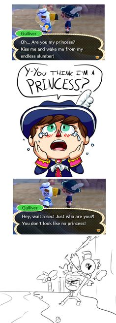 Gulliver, get out of my town! ... But come back later!!