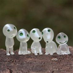 5pcs/Lot Kids Toys Princess Mononoke Luminous Tree Elves Spirit Kodama Gardening Potted Decoration Micro Landscape Toys 3cm #clothing,#shoes,#jewelry,#women,#men,#hats,#watches,#belts,#fashion,#style