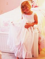I love frilly nightgowns on little girls! I would like to get one of these for my granddaughter