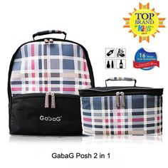 The Posh thermal bag is a backpack two in one thermal cooler bag. The top section can be separated into two separate bags. Plenty of room for your breast milk pumps, accessories, milk bags, and breast pads This bag can also be used for day to day activities like picnics, BBQ, family gathering, kids activities, keeping lunch fresh and any other usage for your needs It comes with 2 free ice gel packs to keep the bag cold up to 16 hours.