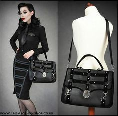 Corporate Goth...as some people still aren't used to us in offices!                                                                                                                                                      More