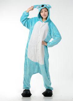 LIHAO Blauer Koala Onesie Pyjamas Schlafanzug unisex Erwachsene Nachtwäsche Anime Cosplay Halloween Kostüm Kleidung Tier- http://www.amazon.de/dp/B00UFCIZMS