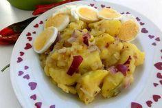 Jak připravit tradiční vídeňský bramborový salát | recept Fruit Salad, Potato Salad, Cauliflower, Macaroni And Cheese, Potatoes, Vegetables, Cooking, Ethnic Recipes, Kitchen