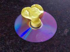 Art and Craft: Balloon CD Hovercraft