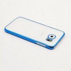 Cover con Bumper per Samsung Galaxy S6 - Blu