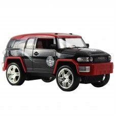 R/C Cars: WebRC - 1:18 Toyota FJ Cruiser - Black/Red