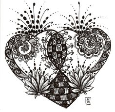 doodle heart -- Flickr - Photo Sharing!
