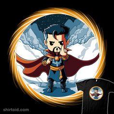 Portal to Another World | Shirtoid #comic #comics #doctorstrange #film #marvelcomics #movies #teeturtle