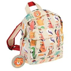 Colourful Creature Mini Backpack