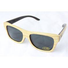 Wood Fellas Jimbaran Sonnenbrille Braun Natural, Holzsonnenbrille