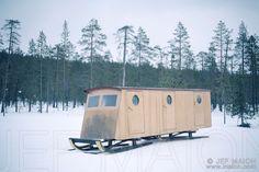 house sled