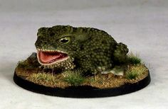 WE15a – Giant Toad I | Otherworld Miniatures