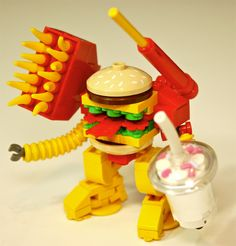 Custom LEGO Big Mac Mech Warrior