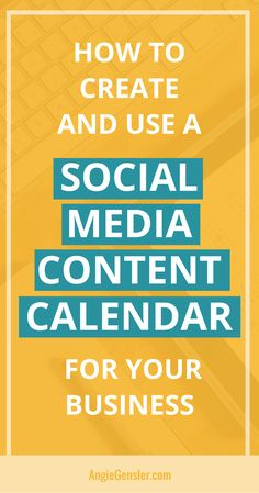 Soona How to Create and Use a Social Media Content Calendar - Tips and tools to get all your social media scheduling and strategy done! Inbound Marketing, Facebook Marketing, Business Marketing, Content Marketing, Affiliate Marketing, Online Marketing, Social Media Marketing, Business Tips, Marketing Tactics
