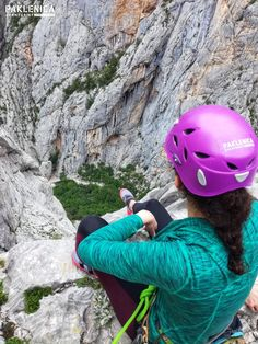 """If it doesn't challenge you, it doesn't change you"" route ""Centralni Kamin Nacionalni park Paklenica Limestone Rock, Outdoor Learning, Rock Climbing, Mountain View, Pitch, Scenery, Landscapes, Hiking, Challenges"