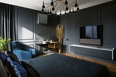 Eclectic Skyline Residence by Sergey Makhno (6)