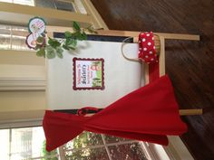 Scarlett's Little Red Riding hood Second Birthday Party!