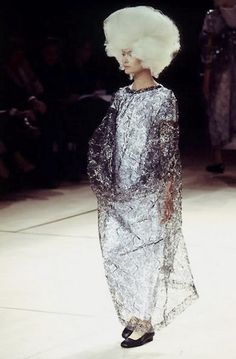 Like something went wrong in a hair salon in outer space.  COMME DES GARÇONS, SS96.