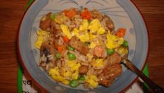 My Mom's Version of Fried Rice with NON-STICKY rice Lobster Recipes, Lobster Meal, Vegetable Fried Rice, Chinese Restaurant, Fabulous Foods, Cheap Meals, Food Preparation, Food Hacks, Dishes