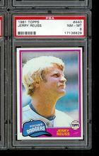 1981 Topps Baseball #440 Jerry Reuss PSA 8 DODGERS