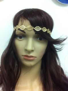 hippie headband Beaded Headband Bohemian Head by LoreNovedades, $18.50