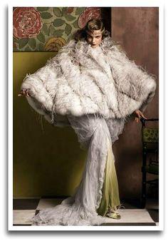 Romantique-Bohême: Vogue rend hommage au couturier Paul Poiret en 2007