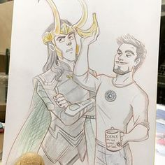 Marvel Show, Loki Thor, Loki Laufeyson, Marvel Funny, Marvel Art, Marvel Avengers, Marvel Comics, Loki Drawing, Avengers Drawings