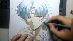 Speed Drawing - Sesshoumaru (InuYasha)