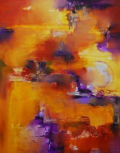 """""""El color de la materia"""" - Perla Kot - Oleo sobre tela - 70 x 90 cm  www.esencialismo.com"""