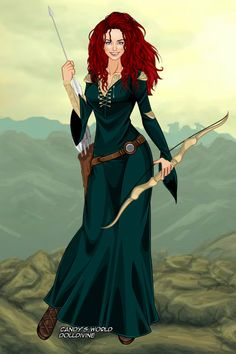 Merida, the brave by maya40.deviantart.com on @DeviantArt