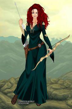 Merida, the brave by maya40.deviantart.com on @DeviantArt